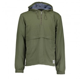 Bunda AQUA - Half Zip Khaki Jacket