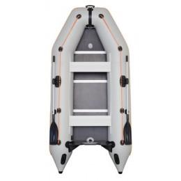 Čln Kolibri KM-330 D šedý, vystužená podlaha