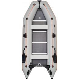 Čln Kolibri KM-360 D šedý, vystužená podlaha