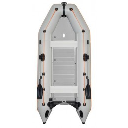 Čln Kolibri KM-360 D šedý, hliníková podlaha