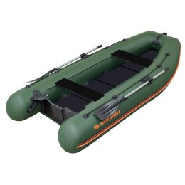 Čln Kolibri KM-300 DL zelený, pevná podlaha