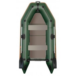 Čln Kolibri KM-280 P zelený, pevná podlaha