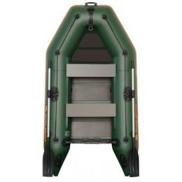Čln Kolibri KM-260 zelený, lamelová podlaha