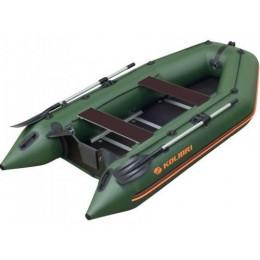 Čln Kolibri KM-300 D zelený, vystužená podlaha