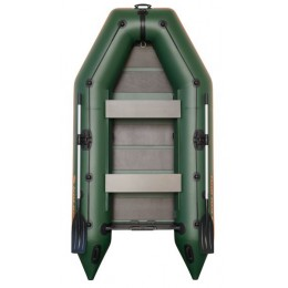 Čln Kolibri KM-330 zelený, lamelová podlaha