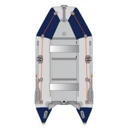 Čln Kolibri KM-300 D šedo modrý, vystužená podlaha