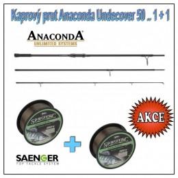 Kaprový prut Anaconda Undecover 50 .. 1 + 1