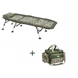 AKCE - Lehátko Stealth Flat6 +  Kaprařská taška Stealth