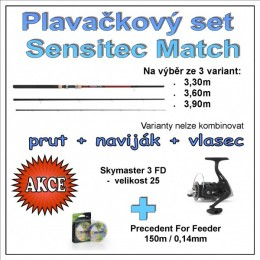 Plavačkový set Sensitec Match Varianta 3,60m