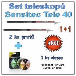 Set teleskopů Sensitec Tele 40 1 + 1