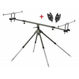 Zfish Stojan Stabil Rod Pod 3 Rods + 2x Bite Alarm EXC 10 FREE!
