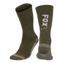 Fox Fox Green / Silver Thermolite long sock 6 - 9 (Eu 40-43)