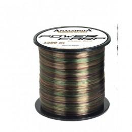 Vlasec Anaconda Power carp camou line 1200m 0,38 mm