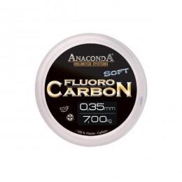 Fluoro Carbon Anaconda Soft / Stiff průměr: 0,45 mm, tuhý