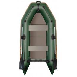 Čln Kolibri KM-280 D zelený, nafukovací kýl, pevná podlaha