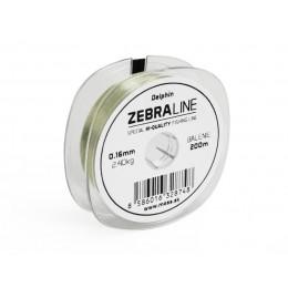 Vlasec DELPHIN Zebra Line 200m