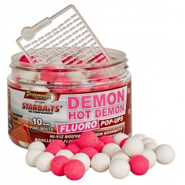 STARBAITS Boilies Pop Up FLUO HOT DEMON 14mm 80g