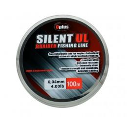 Carp Zoom šnúra SILENT UL Nosnosť (kg/lb): 10 lb  Farba: zelená  Priemer (mm): 0,10  Dĺžka: 100