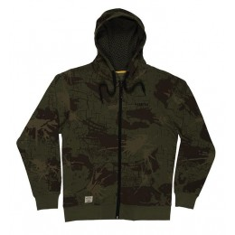 NAVITAS Low Key Zip Hoody Camo