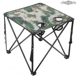 Mikado Skladací rybársky stôl - Digital Camo