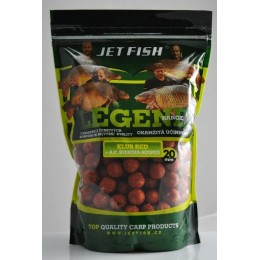 Boilies LEGEND Klub RED + Slivka 1kg 20mm
