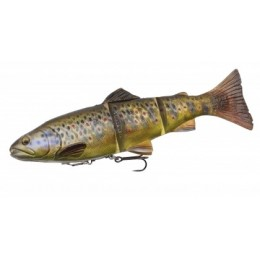 4D Line Thru Trout 15cm 40g 03-Dark Brown Trout