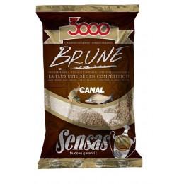 Krmivo 3000 BRUNE Canal (kanál-hnedá) 1kg