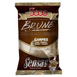 Krmivo 3000 BRUNE Carp (kapor-hnedá) 1kg