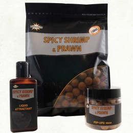 Dynamite Baits Boilies Spicy Shrimp & Prawn 20mm 1kg