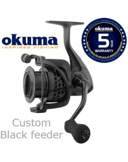 Okuma Custom Black Feeder CLXF-55 FD 7+1