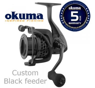 Okuma Custom Black Feeder CLXF-40 FD 7+1