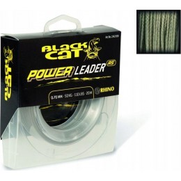 Black Cat Power Leader 20m, 50kg, Ø0,70mm