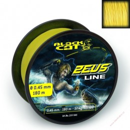 0,45mm Black Cat Zeus Line 180m 37kg