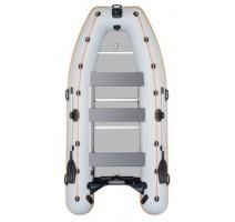 Čln Kolibri KM-450DSL sivý, hliníková podlaha