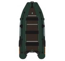 Čln Kolibri KM-450DSL zelený, drevená podlaha