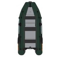 Čln Kolibri KM-450DSL zelený, hliníková podlaha