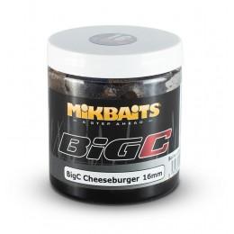 Mikbaits Big C - Cheeseburger- Boilie v dipe - 250ml - 20mm