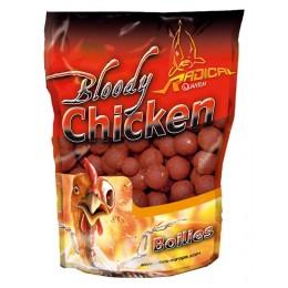 Radical Boilies Bloody Chicken Ø20mm 1kg